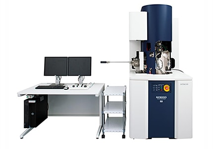 Real-time 3D Analytical FIB-SEM Composite Instrument NX9000