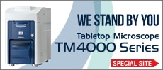 Tabletop Microscope (Benchtop SEM)| TM4000/TM3030Plus/TM3030 Dedicated Website