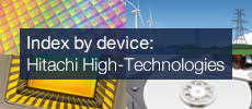 Index by device: Hitachi High-Tech