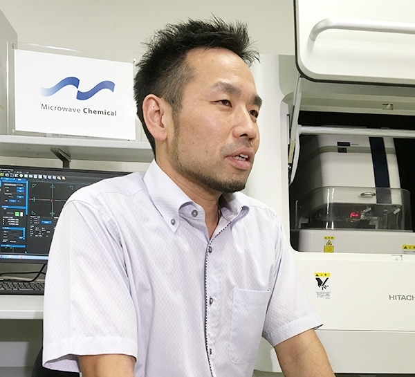Shingo KANEHIRA (Microwave Chemical Co., Ltd. Researcher Ph.D. (Engineering))