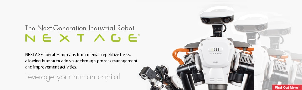 Humanoid Dual Arm Industrial Robot NEXTAGE