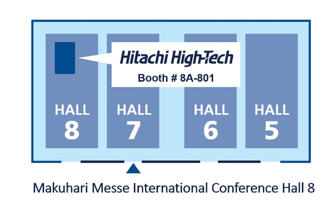 image of JASIS 2019 booth map