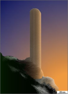 A Skyscraper on a Cliff