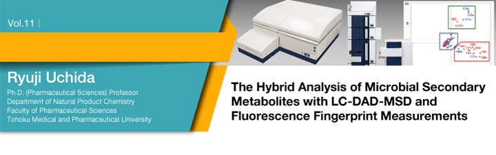 The Hybrid Analysis of Microbial Secondary Metabolites with LC-DAD-MSD and Fluorescence Fingerprint Measurements