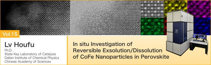 In situ Investigation of Reversible Exsolution/Dissolution of CoFe Nanoparticles in Perovskite