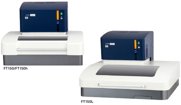 he FT150 series X-ray fluorescence coating thickness gauge.