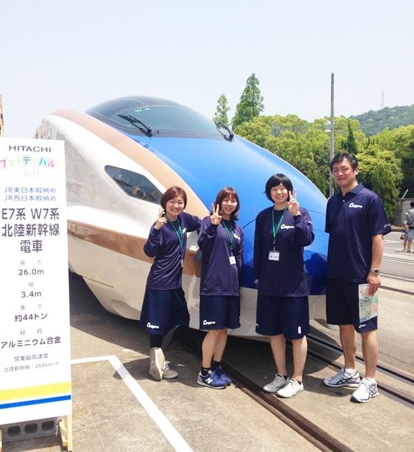 笠戸事業所訪問・HITACHIフェスティバル参加