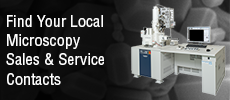 Electron, Ion, and Probe Microscopy Service & Sales Contacts